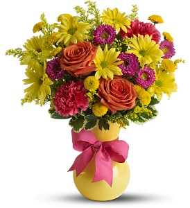 Teleflora's Hooray-diant! in Meadville PA, Cobblestone Cottage and Gardens LLC