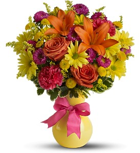 Teleflora's Hooray-diant! - Deluxe in Titusville FL, Floral Creations By Dawn