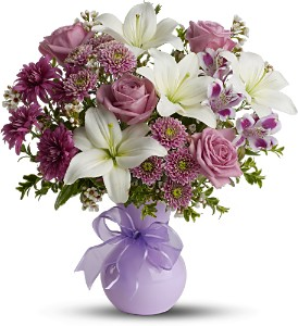 Teleflora's Precious in Purple - Deluxe in Eagle River AK, Oopsie Daisy LLC.