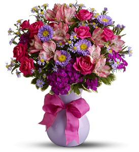 Teleflora's Simply Irresistible in Hilton NY, Justice Flower Shop