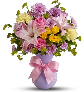 Teleflora's Perfectly Pastel in Elkridge MD, Flowers By Gina