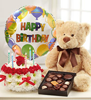 Ultimate Birthday Bundle in Homer NY, Arnold's Florist & Greenhouses & Gifts
