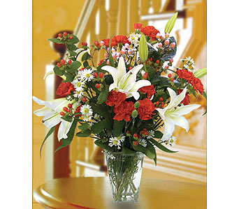 Holiday Berry Bouquet in Pleasanton TX, Pleasanton Floral