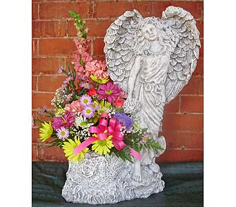 ANGEL IN THE GARDEN(LOCAL DELI in Circleville OH, Wagner's Flowers