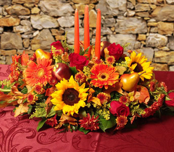 Thanksgiving Bounty in Sylmar CA, Saint Germain Flowers Inc.