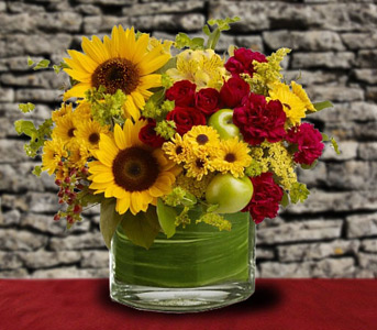Farmer''s Market in a Vase in Sylmar CA, Saint Germain Flowers Inc.