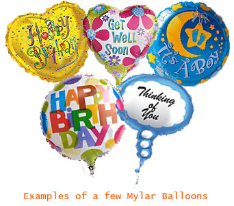 Mylar Balloons Bouquet in Calgary AB, All Flowers and Gifts