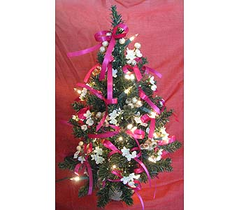 2 Ft Tall Lighted Christmas Trees in Portsmouth OH, Kirby's Flowers