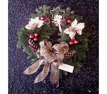 CHRISTMAS WREATH in Medford NY, Sweet Pea Florist