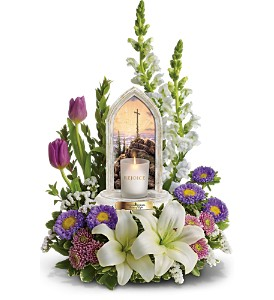 Thomas Kinkade's Easter Joy Bouquet by Teleflora in San Diego CA, Flowers Of Point Loma