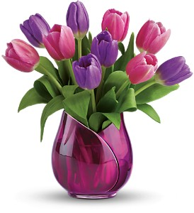 Teleflora's Two-Lips Bouquet in Oklahoma City OK, Array of Flowers & Gifts