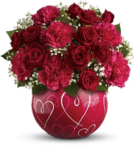 Teleflora's Heart of Hearts Bouquet in San Diego CA, Eden Flowers & Gifts Inc.