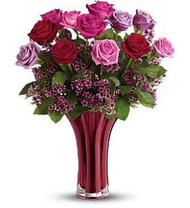 Teleflora's Ruby Nights Bouquet in Ellwood City PA, Posies By Patti