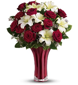 Teleflora's Ruby Nights Dozen - Deluxe in Surrey BC, Brides N' Blossoms Florists