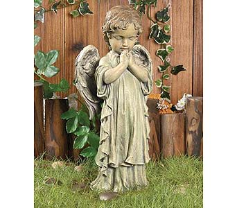 Small Praying Angel in Greenfield IN, Penny's Florist Shop, Inc.