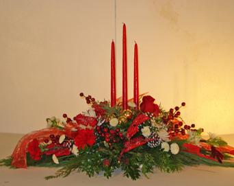 Christmas Trio in Naples FL, Gene's 5th Ave Florist