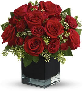 Teleflora's Ravishing Reds in Bloomington IL, Beck's Family Florist