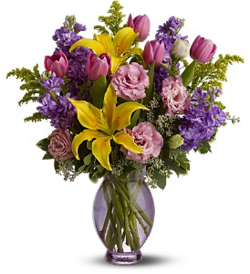 Always Happy by Teleflora in Hilton NY, Justice Flower Shop