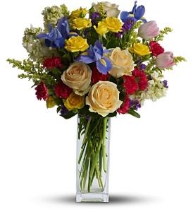 Teleflora's Harmony of Hues in Laurel MD, Rainbow Florist & Delectables, Inc.