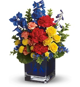Teleflora's Color Collage in Glendale AZ, Blooming Bouquets