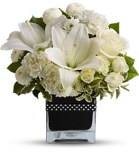 Teleflora's High Society in Bakersfield CA, White Oaks Florist