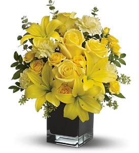 Teleflora's Ray of Sun in Bakersfield CA, White Oaks Florist