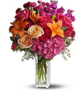 Teleflora's Joy Forever in Hilton NY, Justice Flower Shop
