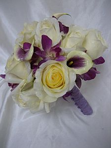 Picasso Calla Bouquet in Guelph ON, Patti's Flower Boutique