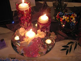 Dendro Lights Centerpiece in Guelph ON, Patti's Flower Boutique