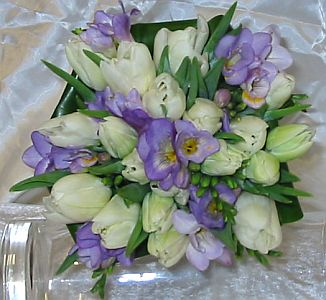 Tulip Freesia Bouquet in Guelph ON, Patti's Flower Boutique