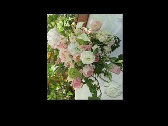 Pinks and Cream Cascade in Guelph ON, Patti's Flower Boutique