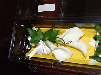 Calla Lily Bouquet in Guelph ON, Patti's Flower Boutique