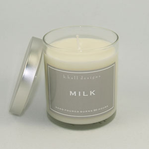 KHall Milk Candle in Kentfield CA, Paradise Flowers