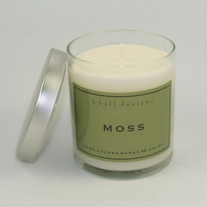 KHall Moss Candle in Kentfield CA, Paradise Flowers