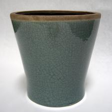 Mulberry Teal Ceramic Pot  in Kentfield CA, Paradise Flowers