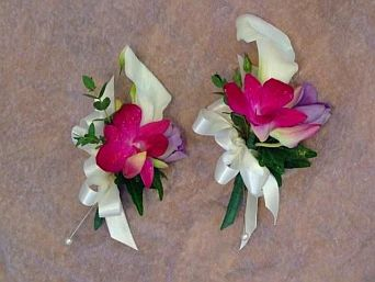 Calla Orchid Boutonnier in Guelph ON, Patti's Flower Boutique
