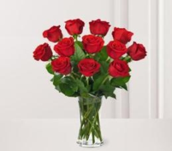 Red Romance in Houston TX, Classy Design Florist