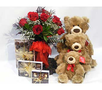 True Romance Gift Set in Alliston, New Tecumseth ON, Bern's Flowers & Gifts