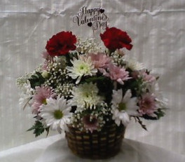 VALENTINES BASKET  in Bellmore NY, Petite Florist