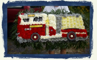 Fire Engine 2 in Tuckahoe NJ, Enchanting Florist & Gift Shop