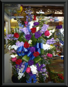 Spray arrangement in Tuckahoe NJ, Enchanting Florist & Gift Shop