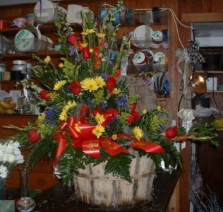Basket with Lid in Tuckahoe NJ, Enchanting Florist & Gift Shop