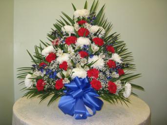 Patriotic Tribute in Weymouth MA, Hartstone Flower, Inc.