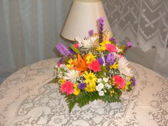 spring centerpiece in Weymouth MA, Hartstone Flower, Inc.