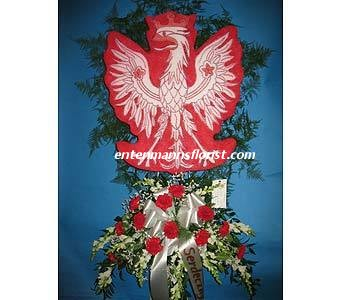 Polish Eagle in Jersey City NJ, Entenmann's Florist