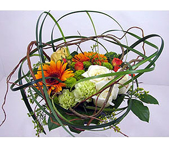 Huddart''s Round and Round Bouquet in Salt Lake City UT, Huddart Floral