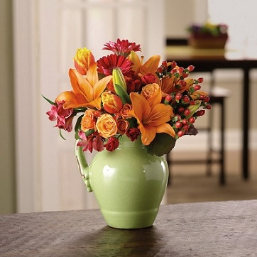 Bountiful Country Pitcher in Burlington NJ, Stein Your Florist