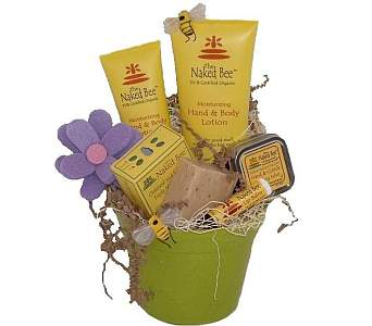 Naked Bee Gift Package in Eugene OR, Dandelions Flowers