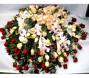 CASKET SPRAY in Port Chester NY, Floral Fashions