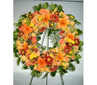 AUTUMN WREATH in Port Chester NY, Floral Fashions